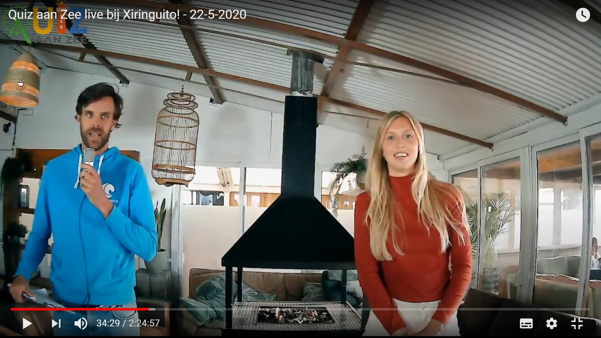 Online Quiz aan Zee live bij Xiringuito - 22-5-2020 v2